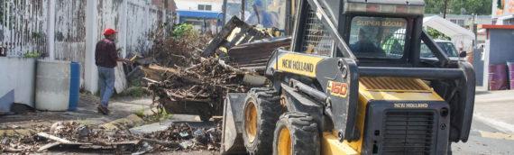 Entra en su última fase el recogido de escombros por parte del Cuerpo de Ingenieros en Toa Baja