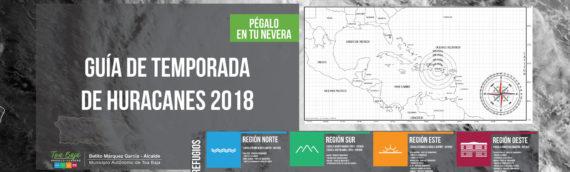 Guía de temporada de huracanes 2018